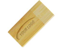 wood001 Reckie USB Flash Drive