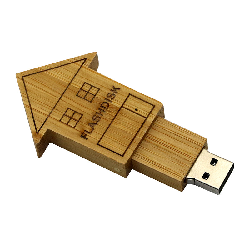 wood 006 house usb drives